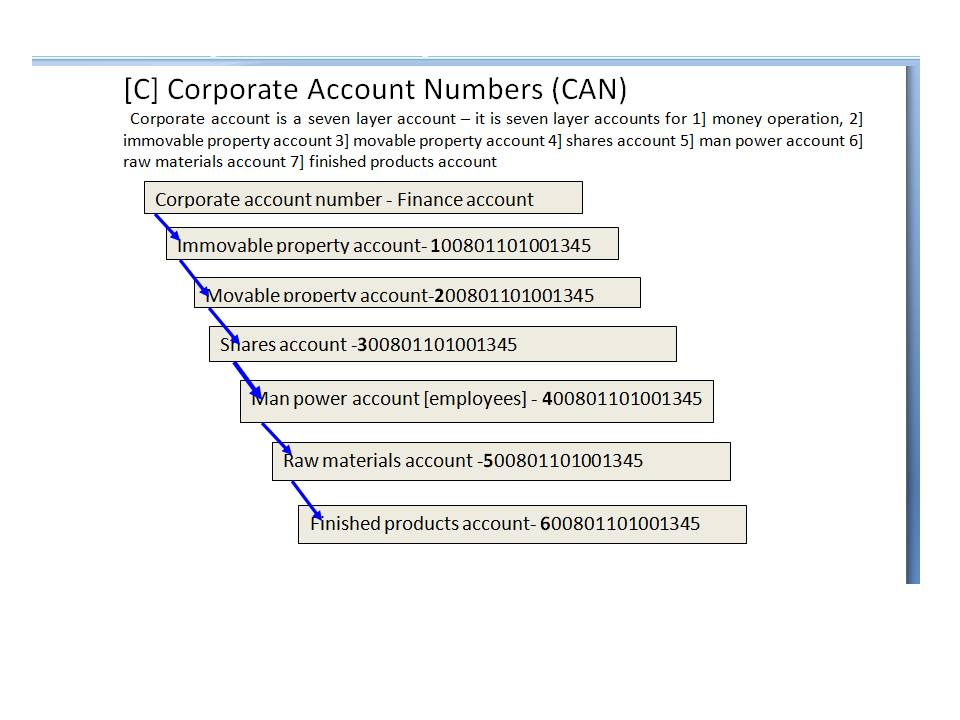 Corporate Account Number